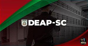 CURSO DEAP/SC AGENTE PENITENCIÁRIO - EXTENSIVO-  Liberado até a próxima prova!