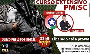 CURSO SOLDADO DA PMSC - EXTENSIVO  -  Liberado até o próximo Concurso - (( PROMOÇÃO DE VOLTA PARA OS ESTUDOS ))