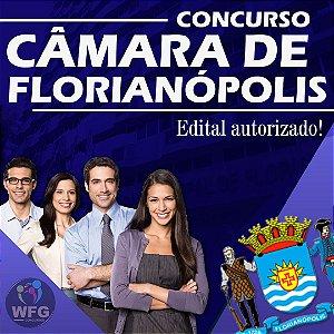 CURSO ONLINE - CÂMARA DE FLORIANÓPOLIS - EDITAL AUTORIZADO - NÍVEL MÉDIO E SUPERIOR (( PROMOÇÃO FIM DE ANO))