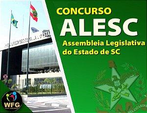 CURSO ONLINE ALESC - PRÉ E PÓS EDITAL -  TÉCNICO LEGISLATIVO  - (( PROMOÇÃO FELIZ 2021))