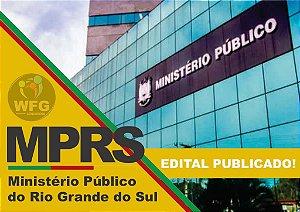 CURSO ONLINE - MPRS - MINISTÉRIO PÚBLICO DO RS EDITAL PUBLICADO  - TÉCNICO DO MINISTÉRIO PÚBLICO (( Promoção de lançamento))