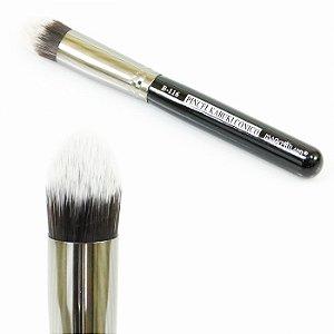 Pincel Kabuki Cônico Macrilan B-116 - Qualidade Profissional