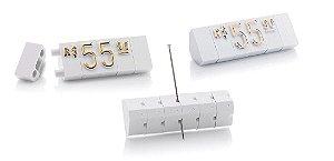 Kit de Preços (510 Peças) - Branco com Dourado