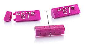 Kit de Preços (255 Peças) - Rosa com Prata