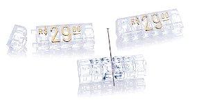 Kit de Preços (255 Peças) - Cristal com Dourado