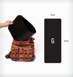 Enchimento Flexível para Bolsas (G) - 25 x 65cm