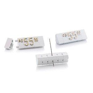Kit de Preços (170 Peças) - Branco com Dourado