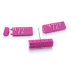 Kit de Preços (170 Peças) - Pink com Branco