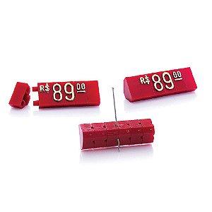 Kit de Preços (170 Peças) - Vermelho com Dourado