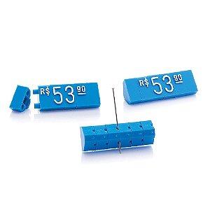 Kit de Preços (170 Peças) - Azul com Branco