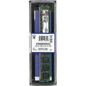 Memória Kingston 2gb Ddr2 800mhz - Pc2-6400 - Krv800d2n6/2g
