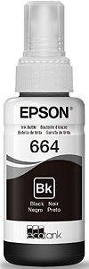 Refil de Tinta 70ml Para Impressora Epson L110 / L200 / 210 / L350 / L355 / L555 - Preto