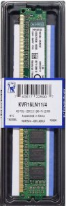 Memória Kingston 4gb Ddr3 1600 Mhz 12800 240-pin KVR16N11/4 PC
