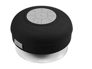 Caixa de Som Resistente a Agua Buetooth - MP3 C/ Suporte P/ Atender Chamadas
