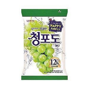 Bala de Uva Verde Coreana 153g - Lotte