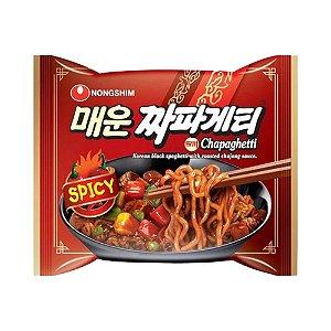 Macarrão Chapagetti Spicy com Molho Chajang 137g - Nongshim