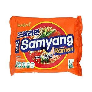 Macarrão Ramyun (Lamen) Carne & Vegetal 120g - Samyang Korea