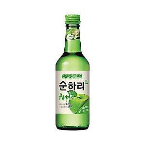 Soju Coreano Maçã 360ml - Chum Churum Lotte
