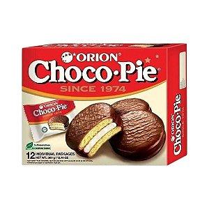 Torta de Chocolate e Marshmallow Chocopie 12un. 360g - Orion