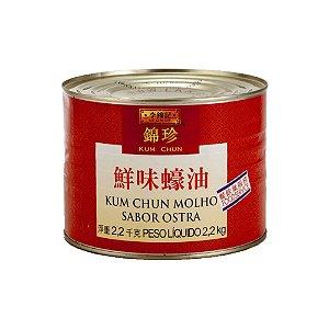 Molho de Ostra 2.2kg Lata - Kum Chun