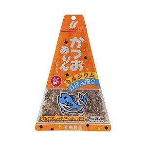 Furikake Triângulo Katsuomirin (Peixe Bonito e Mirin) 36g - Urashima