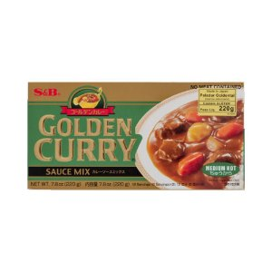 Golden Curry Chukara 220g (Médio) - S&B