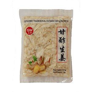 Gengibre em Conserva 1kg ( Caixa 10 un. ) - GW