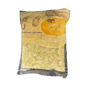 Gengibre em Conserva Fatiado e Temperado 1kg - MAC