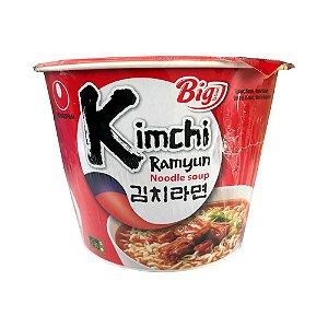 Macarrão Big Bowl Kimchi Ramyun 112g - Nongshim