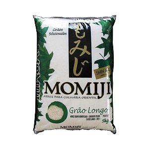 Arroz Grão Longo 5kg - Momiji Verde