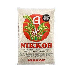 Arroz Grão Curto 5kg - Nikkoh
