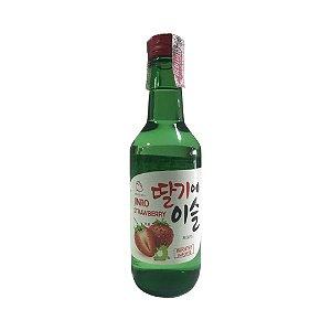Soju Coreano Morango 360ml - Jinro