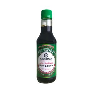 Shoyu Less Sodium 296ml - Kikkoman