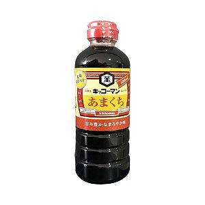 Shoyu Molho de Soja Amakuchi (Suave) 500ml - Kikkoman