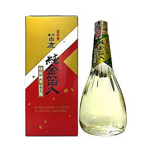 Sake Importado Gold Yamada Nishiki 720ml - Hakushika