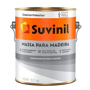 Massa para Madeira Suvinil