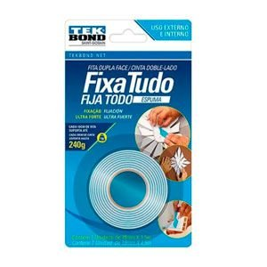 Fita espuma dupla face 19MM X 1,5M TEK BOND