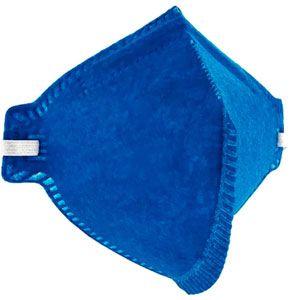 Respirador sem válvula dobrável ProSafety Azul Respiradouro