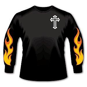 Camiseta Lacruz Manga Longa - Fire