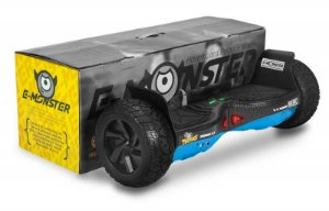 HOVERBOARD BALANCE MONSTER AZUL CARBONO