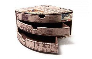 Porta Objeto Courvin Marron Journal