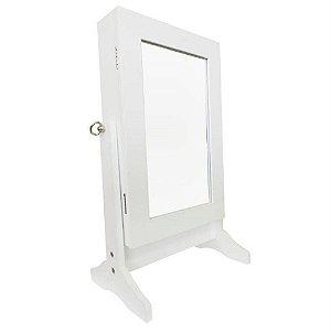 Espelho De Mesa Porta Joias e Acessórios