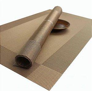 Supla de Mesa Almofada Lavável PVC Resistente a Mancha 6 peças Frete Grátis