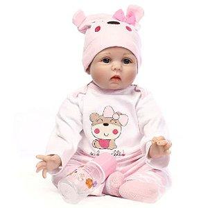 Bonecas de Silicone Bebê Reborn  Baby Dolls Handmade Simula Bebê Real