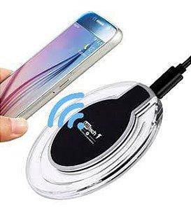 Carregador Celular Sem Fio Wireless De Mesa Indução MB Tech Importado