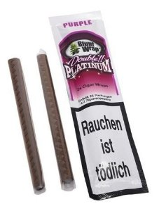 Double Platinum Blunt Wrap Germany Sedas Sabores E Odor