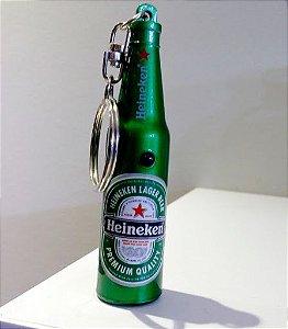 1 Chaveiro Heineken Mini Garrafinha - Edição Limitada