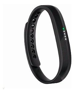 Pulseira Para Substituição Fitbit Flex 2 - Preta