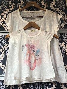 T-Shirt Devorê Mãe e Filha
