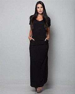 Vestido Longo Casual